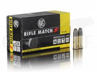 .22 lfB RWS Rifle Match S Randfeuerpatronen 50 Stück