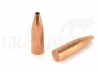 .331 / 8,41 mm 206 gr / 13,4 g Ballistix Academy Mantelgeschosse Open Tip Spitz Flat Base 50 Stück