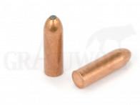 .323 / 8,2 mm 226 gr / 14,6 g Ballistix Academy Mantelgeschosse Open Tip Rundkopf Flat Base 50 Stück