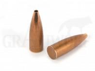 .510 / 12,95 mm 650 gr / 42,1 g Ballistix Academy Mantelgeschosse Open Tip Spitz Flat Base 25 Stück