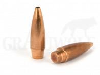 .510 / 12,95 mm 650 gr / 42,1 g Ballistix Academy Mantelgeschosse Open Tip Spitz Rebated Boattail 25 Stück