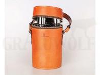 Beier Travel Companion 3 Flaschen Trinkset Leder braun