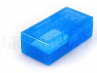 Berry´s Klappdeckelbox #454 blau für 50 Patronen .454 / .500 AE