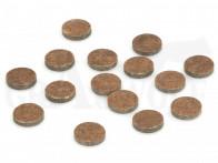"BPI Maxi Nitro Pappplättchen Kaliber 16 .125"" / 3,2 mm stark .672""/ 17,1 mm Durchmesser 500 Stück"