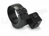 EAW Hinterfuß mit Ring gekröpft 30 mm BH 15,5 mm