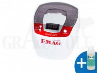 EMAG Emmi-D21 Ultraschallreiniger mit Edelstahlwanne