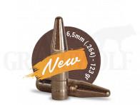 .264 / 6,5 mm 123 gr / 8,0 g Fox Target Bleifrei Geschosse 100 Stück