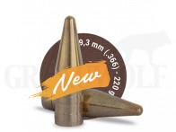 .366 / 9,3 mm 220 gr / 14,2 g Fox Target Bleifrei Geschosse 50 Stück