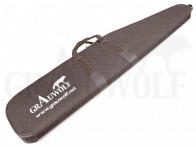 """Futteral """"Grauwolf"""" für eine Langwaffe mit ZF braun 128 cm"""