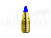 .366 / 9,3 mm 154 gr / 10,0 g Leader LJG-SX Messing Hohlspitz Geschosse 50 Stück