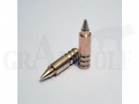 .264 / 6,5 mm 100 gr / 6,5 g Wi-La-Tech DSG Doppel-Scharfrand-Geschosse bleifrei 50 Stück