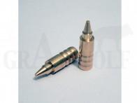 .308 / 7,62 mm 130 gr / 8,4 g Wi-La-Tech DSG Doppel-Scharfrand-Geschosse bleifrei 50 Stück