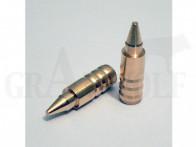 .338 / 8,5 mm 165 gr / 10,7 g Wi-La-Tech DSG Doppel-Scharfrand-Geschosse bleifrei 50 Stück