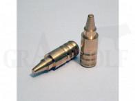 .356 / 9 mm 180 gr / 11,7 g Wi-La-Tech DSG Doppel-Scharfrand-Geschosse bleifrei 50 Stück