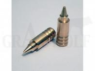 .375 / 9,5mm 231 gr / 15,0 g Wi-La-Tech DSG Doppel-Scharfrand-Geschosse bleifrei 50 Stück