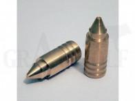 .458 / 11,63 mm 350 gr / 22,6 g Wi-La-Tech DSG Doppel-Scharfrand-Geschosse bleifrei 50 Stück
