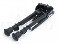 Harris Bipod Serie S 22,5-33 cm Rastenverstellung bewegliche Basis