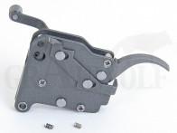 Jewell Abzug mit Sicherung für Remington 700 einstellbar ca. 48 - 1360 Gramm mit Sicherung oben