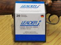 .222 Remington 46 gr / 3,0 g Leader LJG-HSR Messing Hohlspitz Patronen 20 Stück