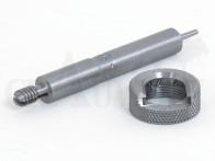 Lee Custom Trimmlängenmaß mit Hülsenhalter für 6,5x57