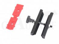 Magnetospeed V3 Rail-Adapter für Kurzwaffe mit Picatinnyschiene