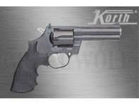 """Korth Revolver National Standard .357 Magnum 4"""" schwarz K/L Rahmen 6-schüssig mit Wechseltrommel 9x19"""