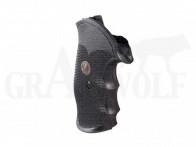Pachmayr Gripper S&W J Rahmen Square Butt Griffschalen mit Fingermulden