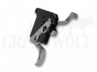Rifle Basix Abzug für Rem 7, 700, 40x, 721, & XR-100 Abzugsgewicht 230 bis 680 g Silber