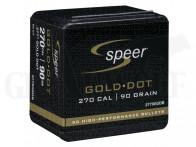 .277 / 7 mm (6.8) 90 gr / 5,8 g Speer Gold Dot SP Geschosse 50 Stück
