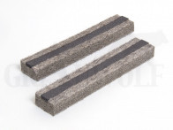 Filzbacken 125 mm für Schraubstock