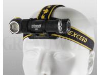 Armytek Wizard Pro Magnet USB Winkelkopflampe mit Magnetladekabel 2300 Lumen